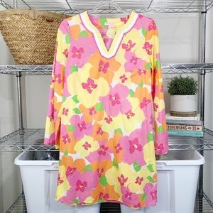 LILLY PULITZER | printed floral tunic dress